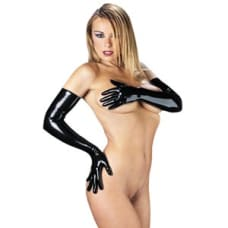 Buy Rubber Secrets Long Gloves Online