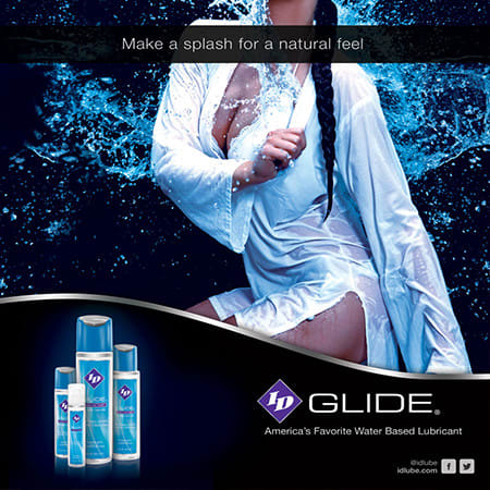 ID Sex Lubricants. Make a splash for a natural feel