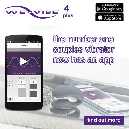 we-vibe 4 plus the  number one couples vibrator now with app