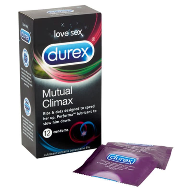 Thumb for main image Durex Mutual Climax 12 Pack Condoms