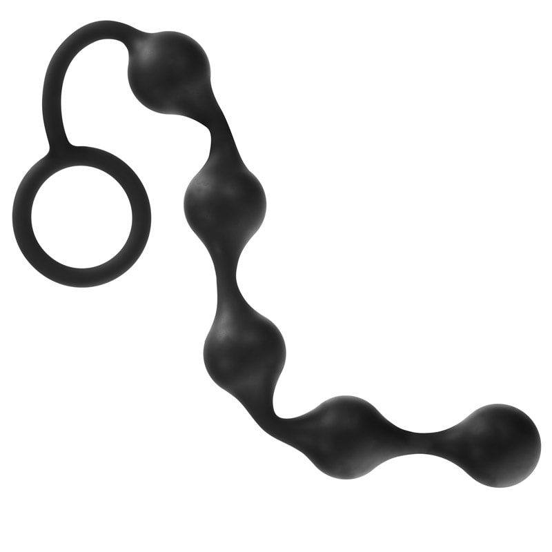 Thumb for main image Onyx Silicone Anal Beads