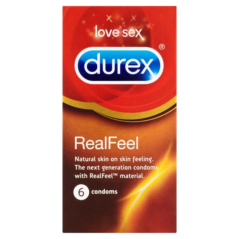 Thumb for main image Durex Real Feel 6 Pack Condoms