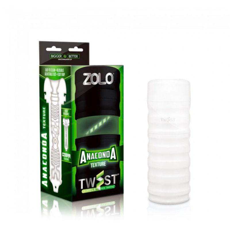 Thumb for main image Zolo Anaconda Twist Masturbator Cup