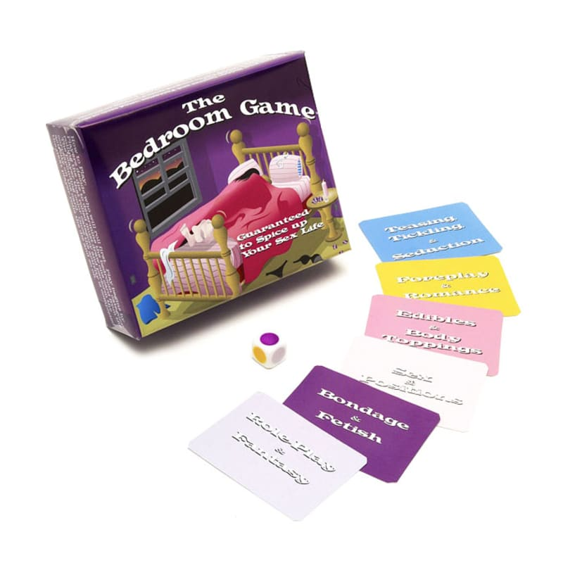 "Thumb for main image ""The Bedroom Game"" Sex Cards"