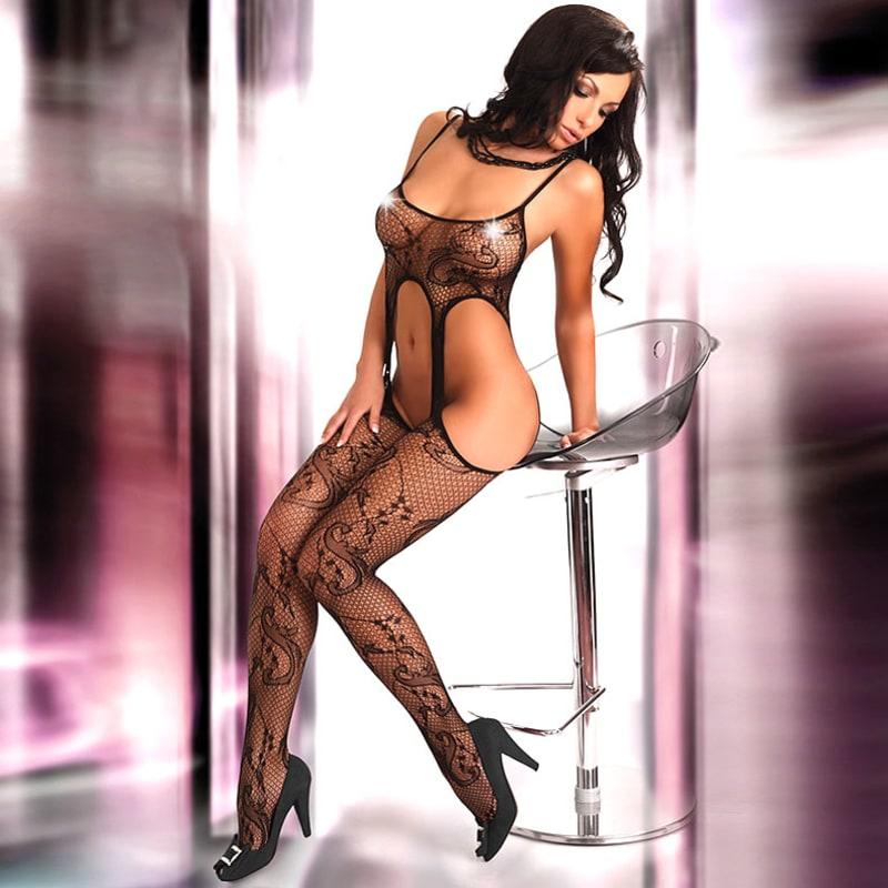 Thumb for main image Corsetti Praline Body Stocking UK Size 8-12