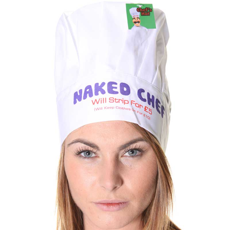 Thumb for main image Naked Chef Novelty Funny Hat