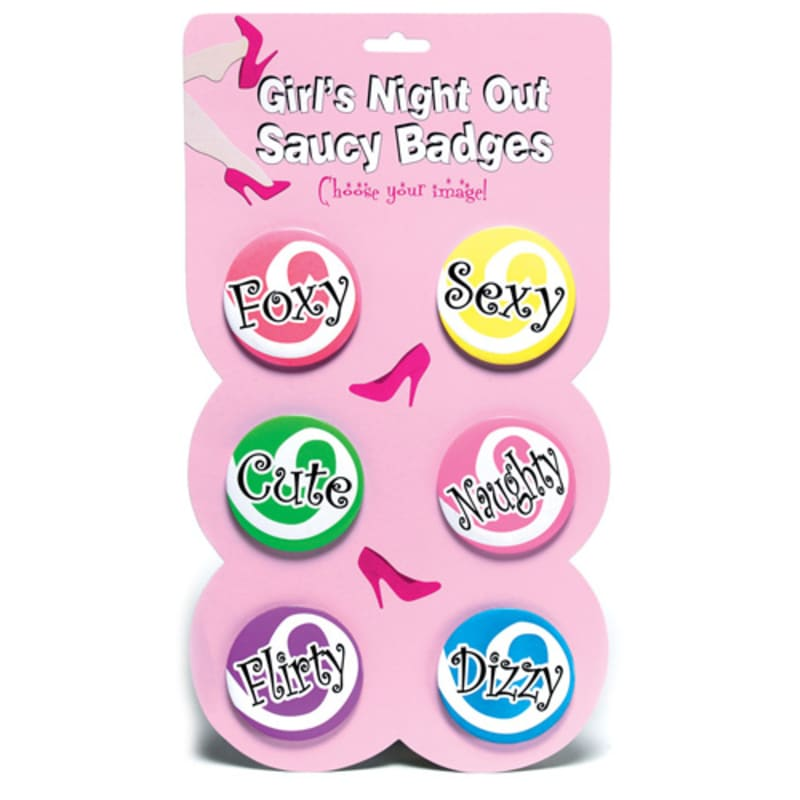 Thumb for main image Girls Night Out Saucy Badges
