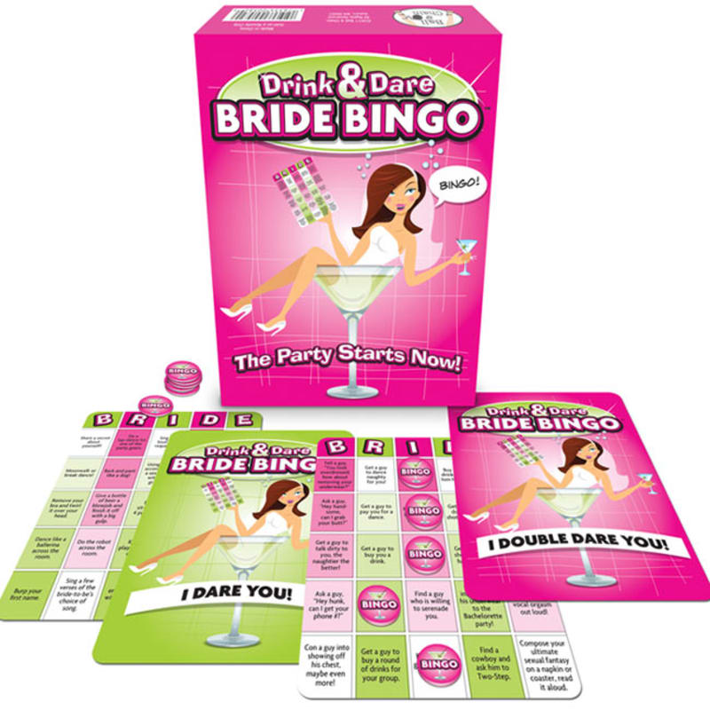 Thumb for main image Bride Bingo Hen Party Saucy Game