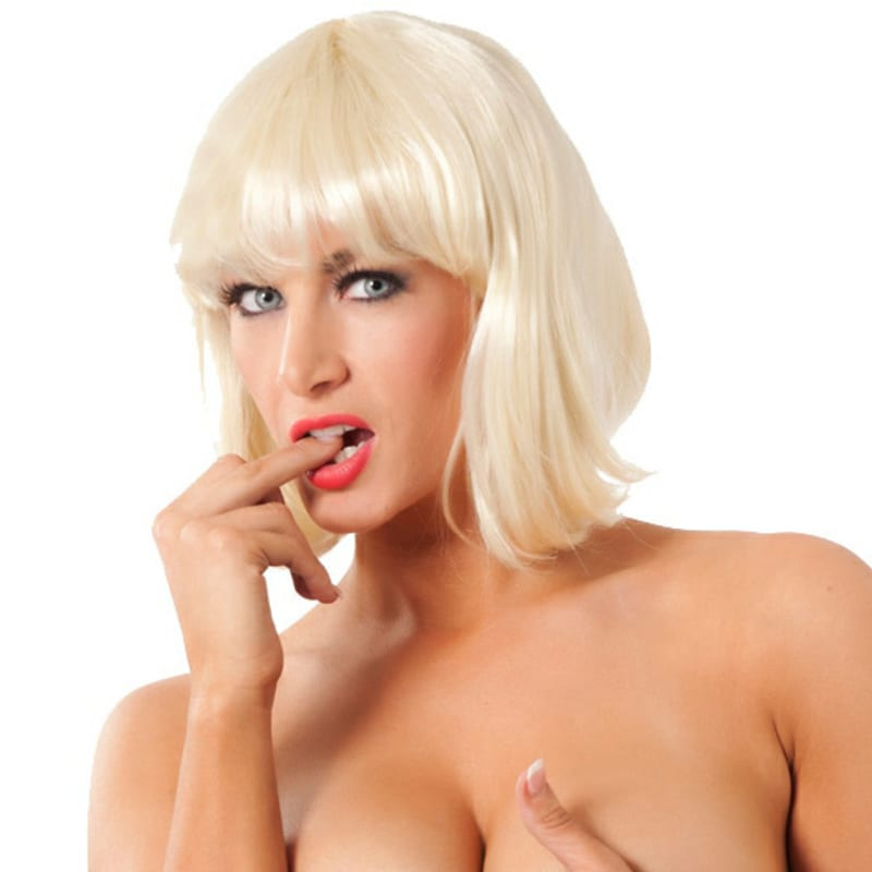 Thumb for main image Sexy Short Blonde Dress Up Wig