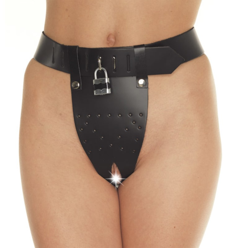 Thumb for main image Leather Chastity Brief