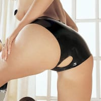 Porduct image for LATEX OPENCROTCH PANTIES