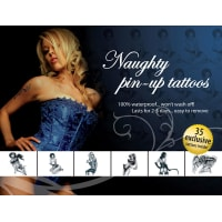 Porduct image for Tattoo Set Naughty Pin Up