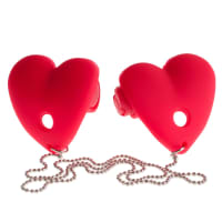 Porduct image for Fetish Fantasy Series Vibrating Heart Pasties