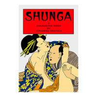 Porduct image for The Shunga Adult Colouring Book