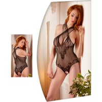 Porduct image for Lace Body Suit With Open Crotch