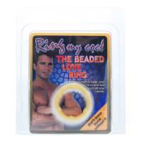 Beaded Love Ring