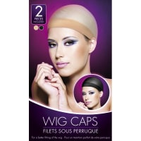 Porduct image for Nude And Black Wig Cap
