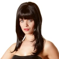 Porduct image for Long Black Wig