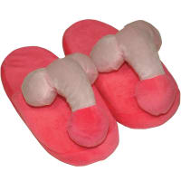 Porduct image for Pink Penis Slippers