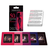 Porduct image for 50 Positions of Bondage Sex Position Cards