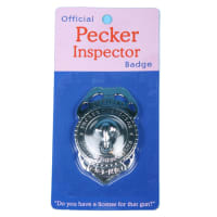 Porduct image for Official Pecker Inspector Badge