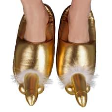 Buy Golden Penis Slippers Online