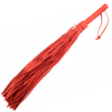 Buy Rouge Garments Large Red Leather Flogger Online