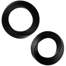 Buy Rock Rings The Hellfire ll 2 Pack Black Cock Rings Online