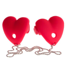 Buy Fetish Fantasy Series Vibrating Heart Pasties Online
