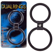 Buy Dual Rings  Shaft And Balls Ring Online