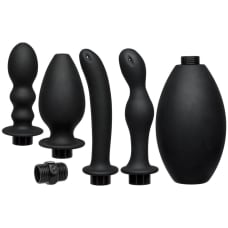 Buy Kink Flow Full Flush Silicone Anal Douche And Accessories Online