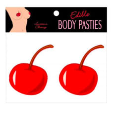 Buy Edible Luscious Cherry Flavour Body Pasties Online