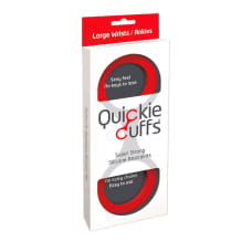 Buy Quickie Cuffs Large Red Ankle Or Wrist Cuffs Online