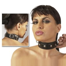 Buy Leather Collar with Stud Detail Online