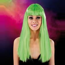 Buy Cabaret Wig Green Long Online
