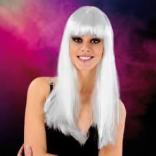 Buy Cabaret Wig White Long Online