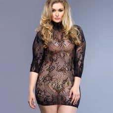 Buy Leg Avenue Floral Lace Mini Dress UK 16-18 Online