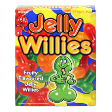 Buy Fruit Flavoured Jelly Willies Online