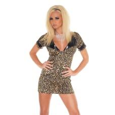 Buy Leopard Mini Dress Online