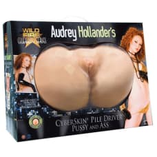 Buy Audrey Hollanders CyberSkin Pile Driver Pussy and Ass Online