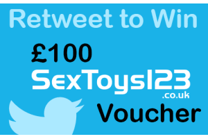 Twitter Competition: Win a 100 pound SexToys123 Voucher