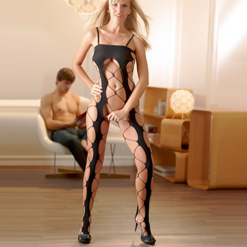 Thumb for main image Netted Catsuit