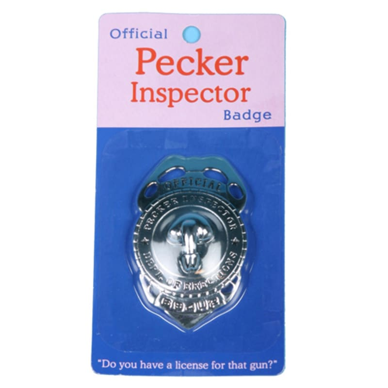 Thumb for main image Official Pecker Inspector Badge