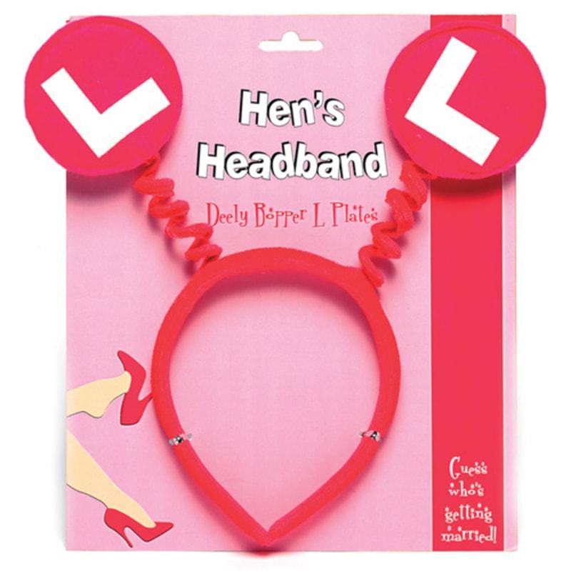 Thumb for main image Hens L Plates Headband