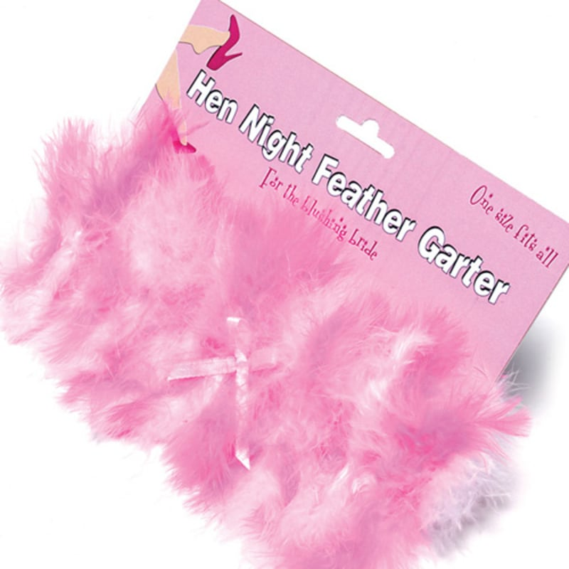 Thumb for main image Hen Night Feather Garter
