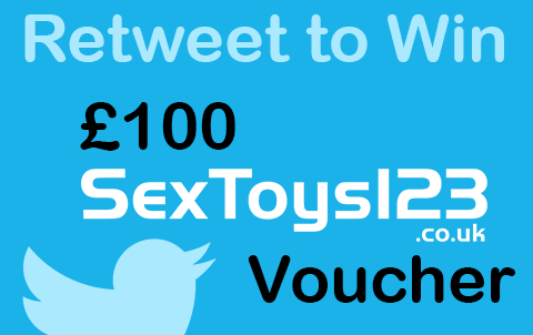 Main Image for article Twitter Competition: Win a 100 pound SexToys123 Voucher