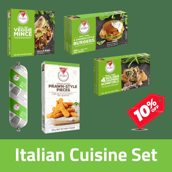 Fry's Italian Cuisine Pack