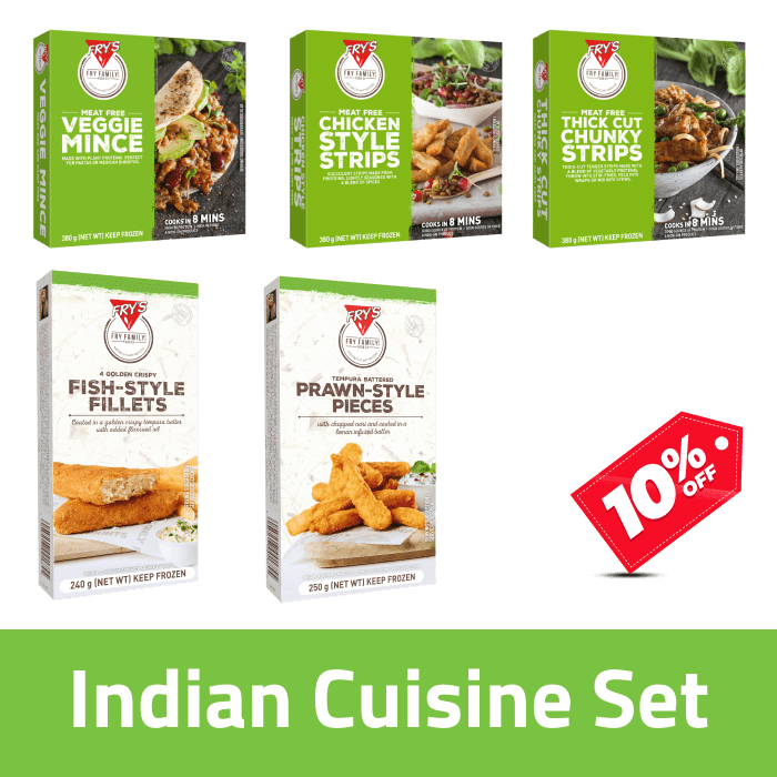 Fry's Indian Cuisine Pack