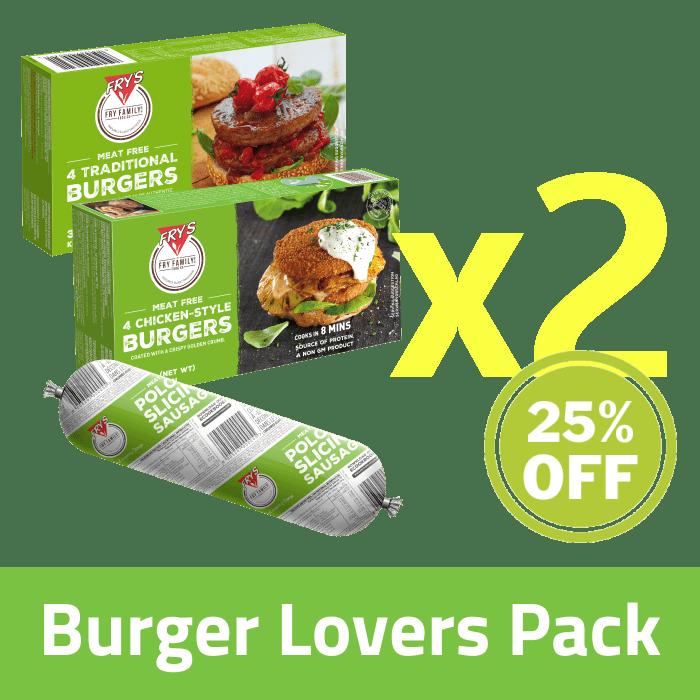 Burger Lovers Pack (Extended Shelf Life)