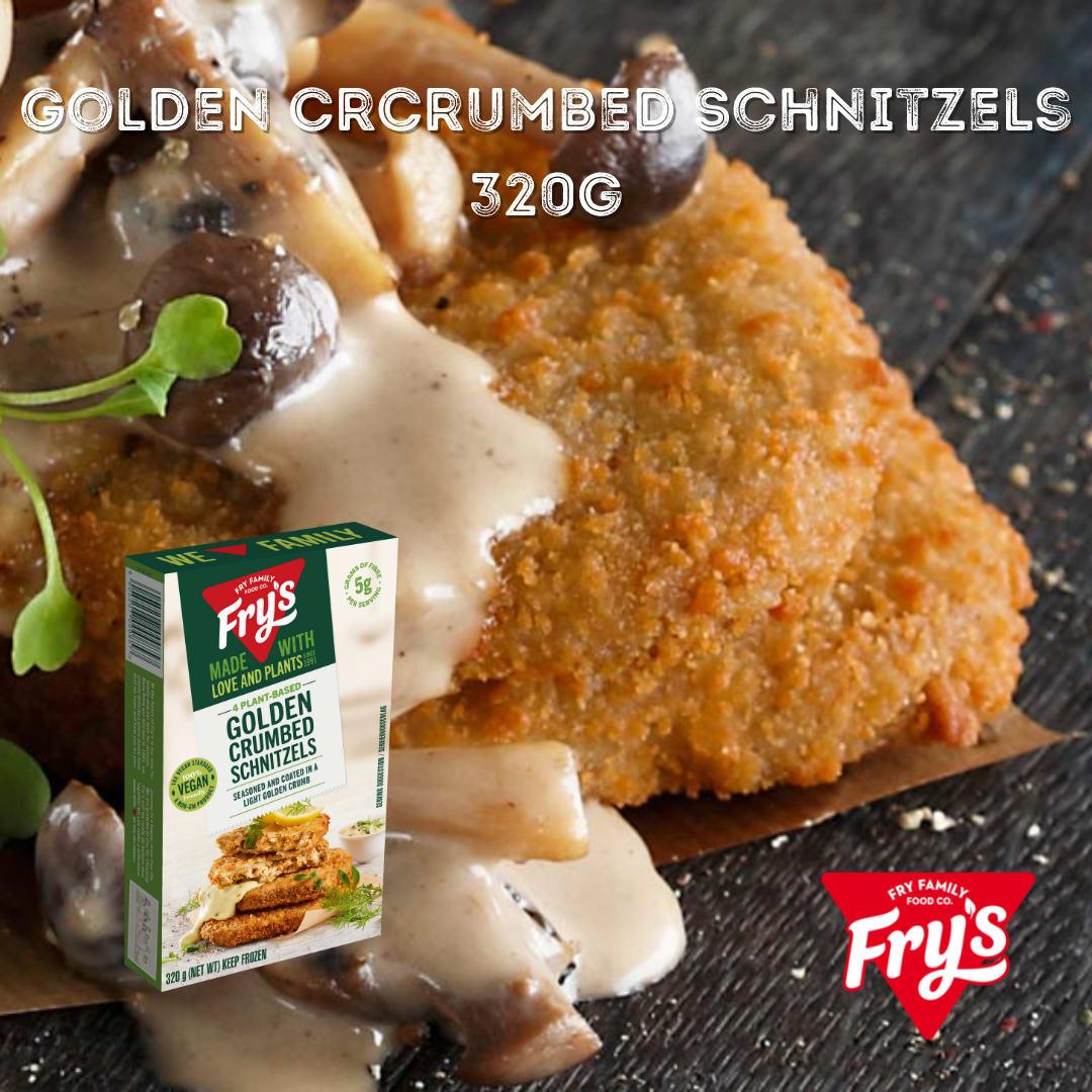 Fry's Golden Crumbed Schnitzels 4pc 320g